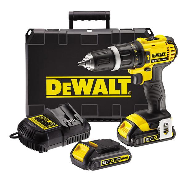 Винтоверт ударен акумулаторен Dewalt DCD785C2, 18.0 V, 1.5 Ah