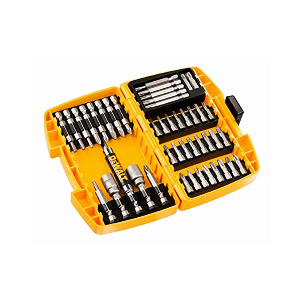 Накрайник с магнитен държач комплект PH/PZ/TX/SB/SW, 45 бр., Dewalt DT71572